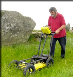 Ground Penetrating Radar (GPR) is a very high spatial resolution technique