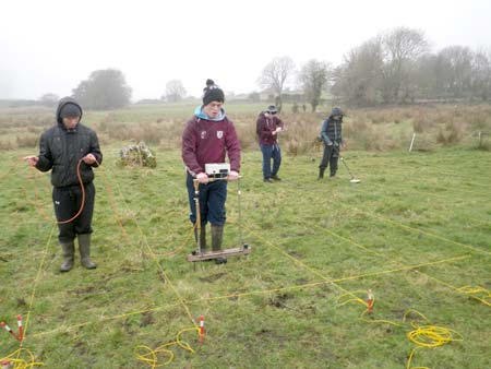 Geophysics at Balla Secondary School, County Mayo