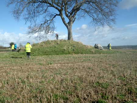 Topographical and Geophysical Surveys of Rathcoon Barrow for Kilberry Amenity and Heritage Group.