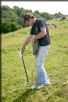 Field Magnetic Susceptibility Meter (Photo Conor Brady)